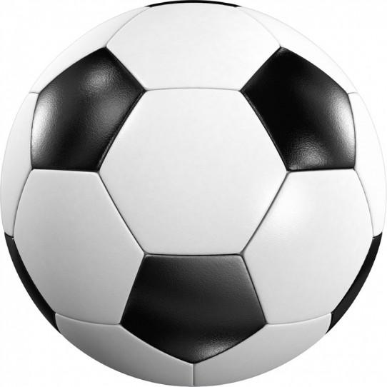 Stickers effet 3D- Ballon de foot 16