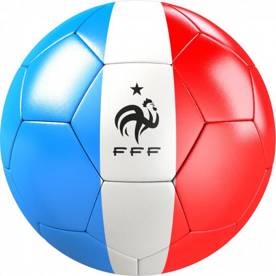 Stickers effet 3D- Ballon de foot 4