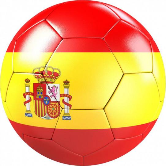 Stickers effet 3D- Ballon de foot 6