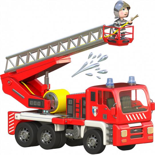 Stickers effet 3D- Camion de pompiers 2