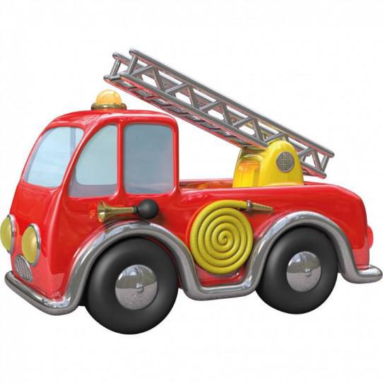 Stickers effet 3D- Camion de pompiers 3