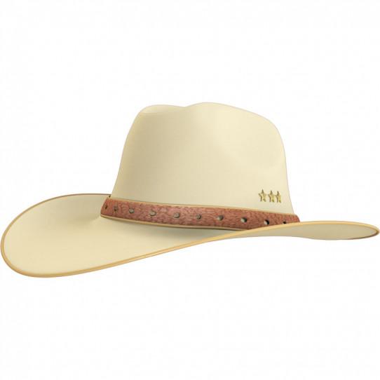Stickers effet 3D - Chapeau Cowboy