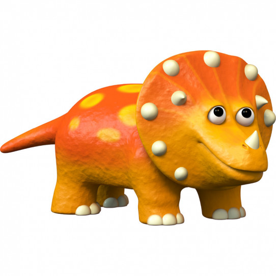 Stickers effet 3D- Dinosaure