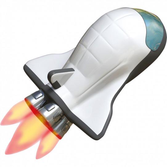 Stickers effet 3D- Fusée spatiale 3