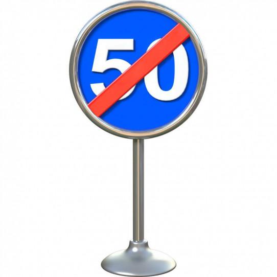 Stickers effet 3D- Panneau routier 8