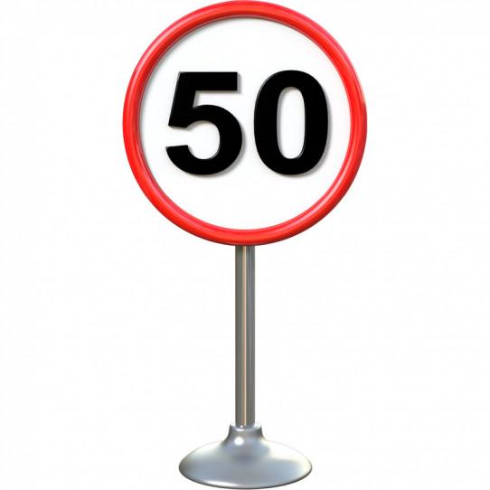 Stickers effet 3D- Panneau routier 9