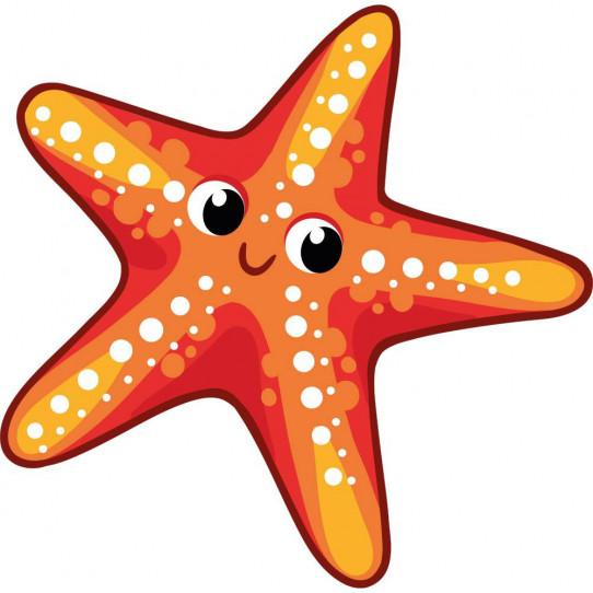 Stickers étoile de mer