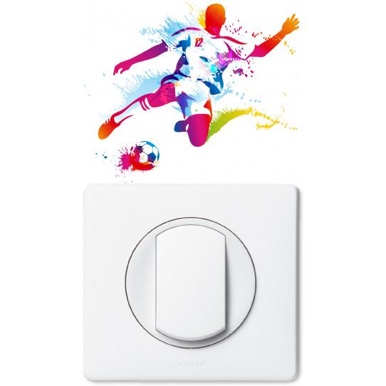Stickers foot pour prise et interrupteur