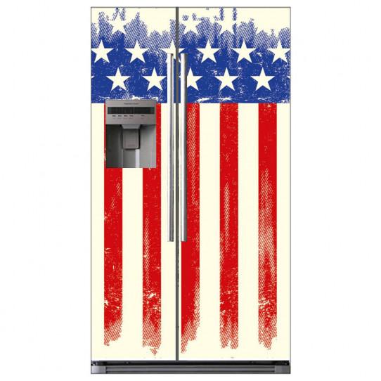 Stickers Frigo Américain