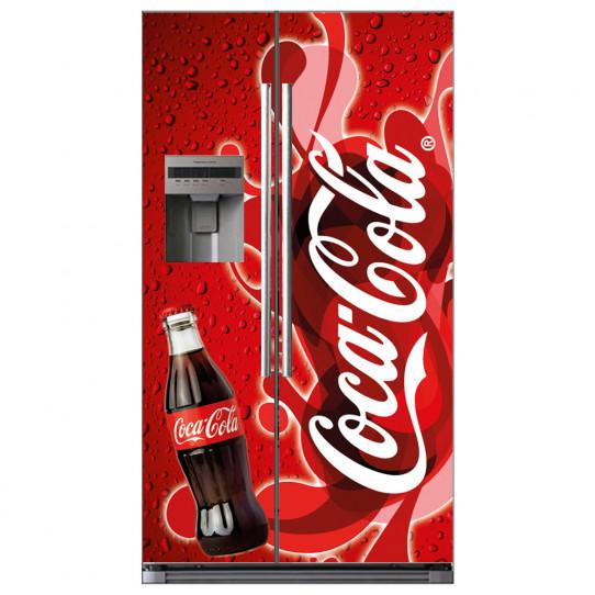 Stickers Frigo Américain coca cola