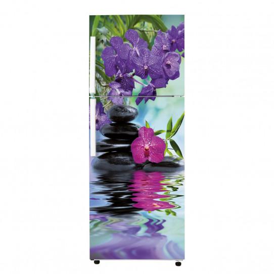 Stickers Frigo - Galets fleur 6