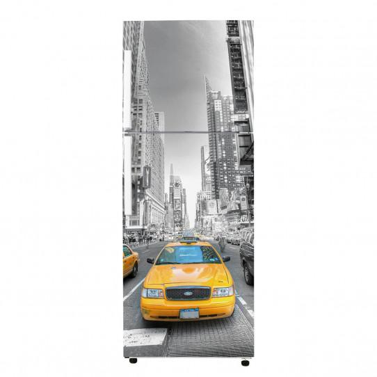 Stickers Frigo - New york Taxi