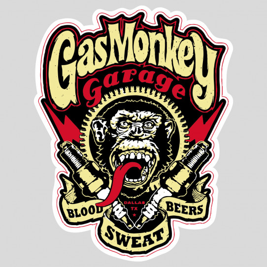 Stickers gas monkey