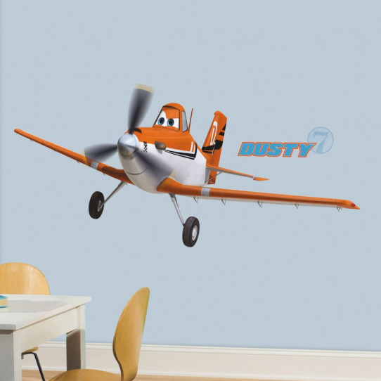 Stickers géant Dusty Crophopper Planes Disney