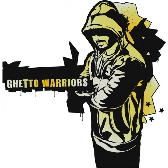 Stickers ghetto warriors