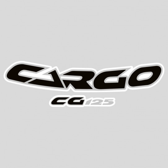Stickers honda cg cargo 125