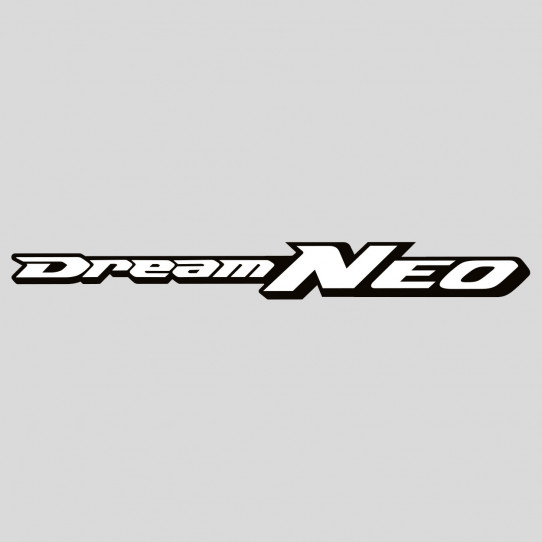 Stickers honda dream neo