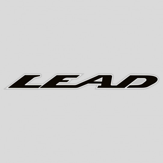 Stickers honda lead