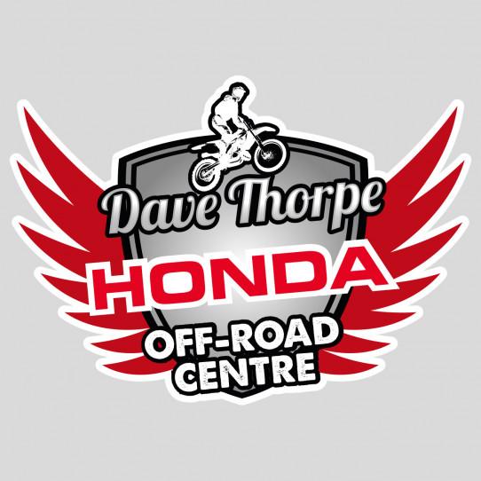 Stickers honda off-road centre
