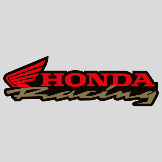 Stickers honda racing