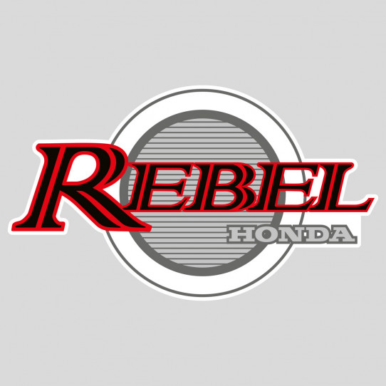 Stickers honda rebel
