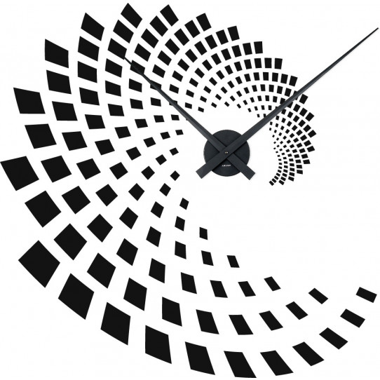 Stickers Horloge illusion