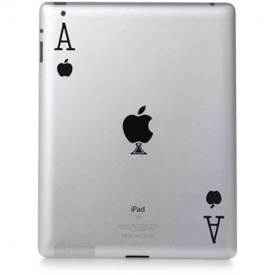 Stickers ipad 2 As d'Apple