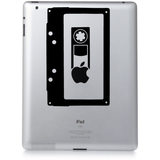 Stickers ipad 2 cassette