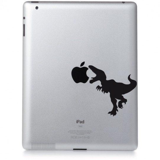 Stickers ipad 2 dinosaure