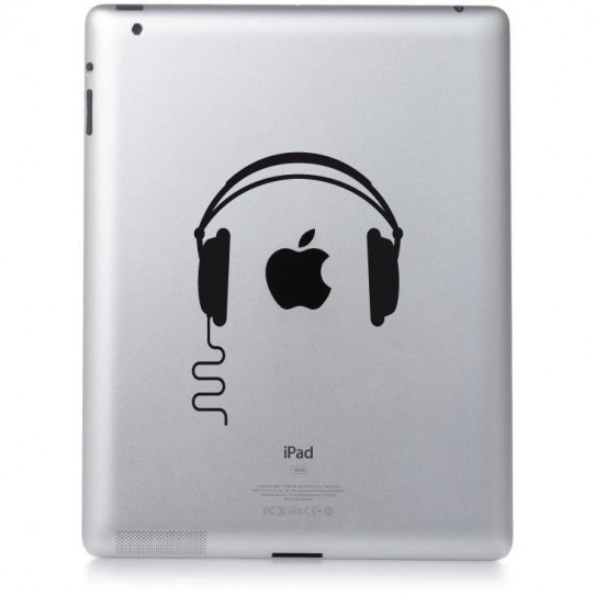 Stickers ipad 2 Dj