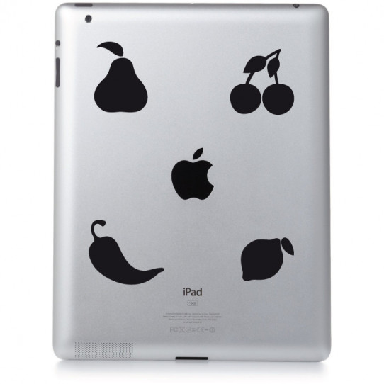 Stickers ipad 2 fruity