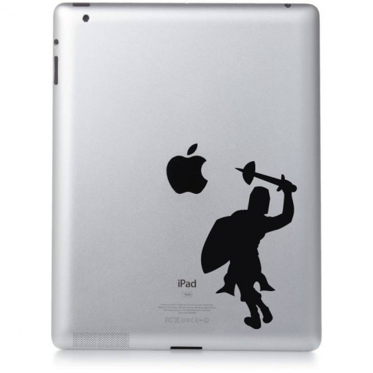 Stickers ipad 2 knight