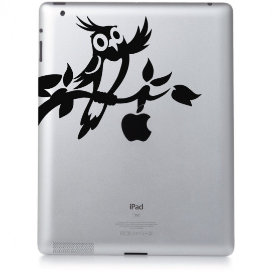 Stickers ipad 2 oiseau