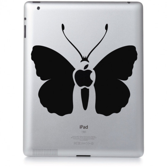 Stickers ipad 2 papillon