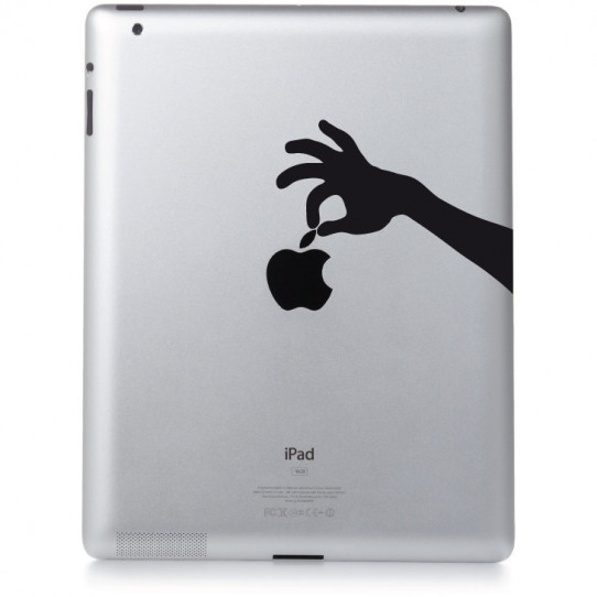 Stickers ipad 2 pincette