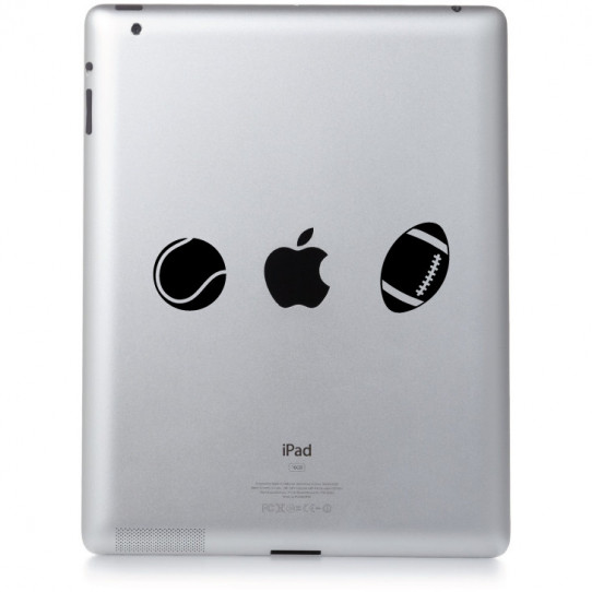 Stickers ipad 2 sport
