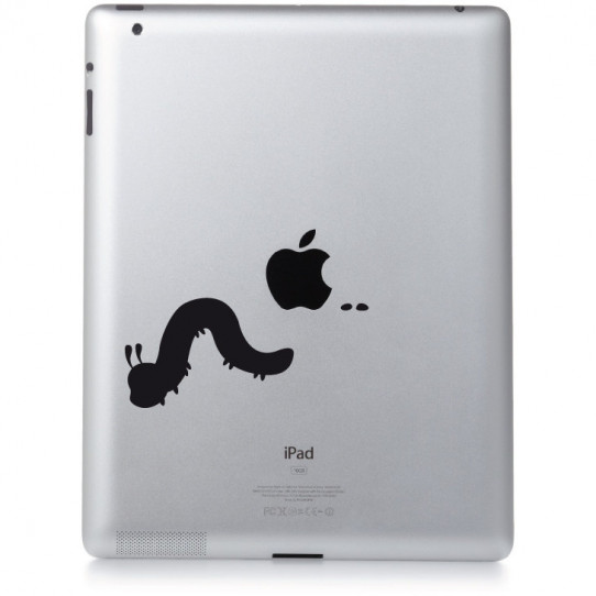 Stickers ipad 2 ver de terre