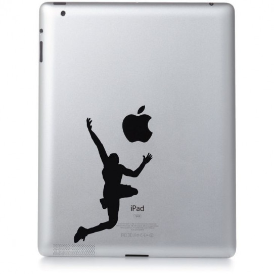 Stickers ipad 3 basket