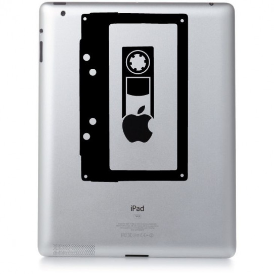 Stickers ipad 3 cassette