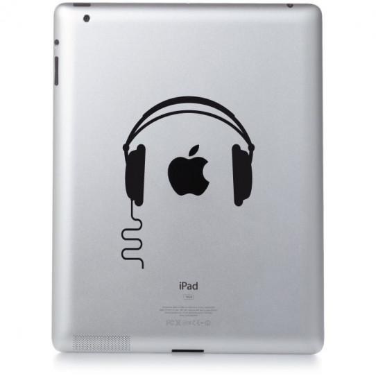 Stickers ipad 3 Dj