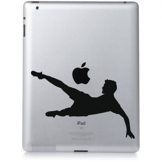 Stickers ipad 3 foot