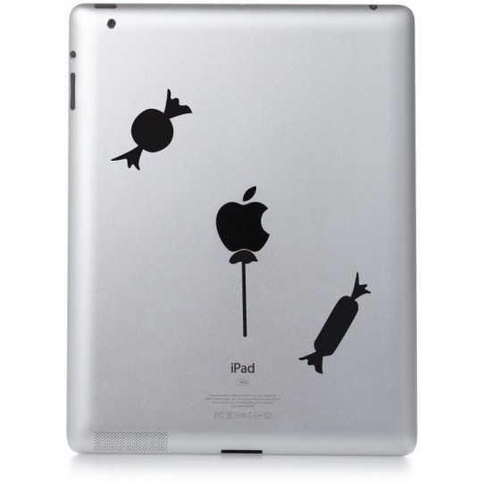 Stickers ipad 3 friandises