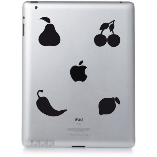 Stickers ipad 3 fruity