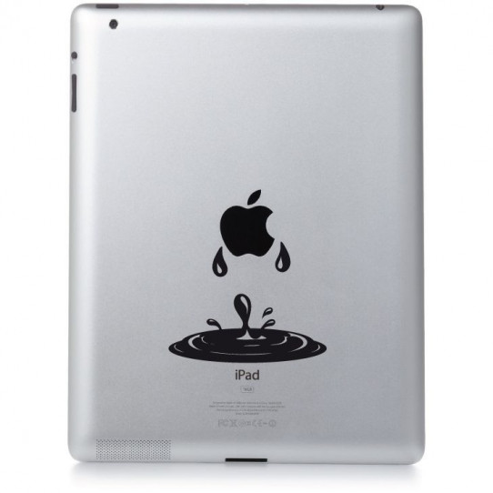 Stickers ipad 3 goutte d'eau