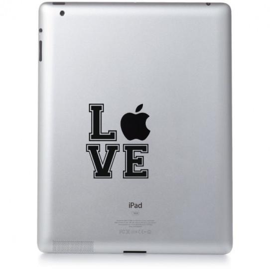 Stickers ipad 3 love