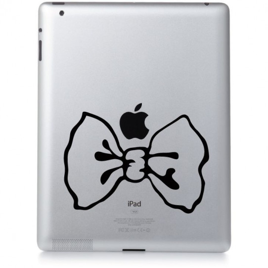 Stickers ipad 3 noeud papillon