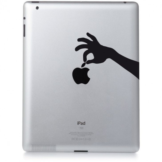Stickers ipad 3 pincette