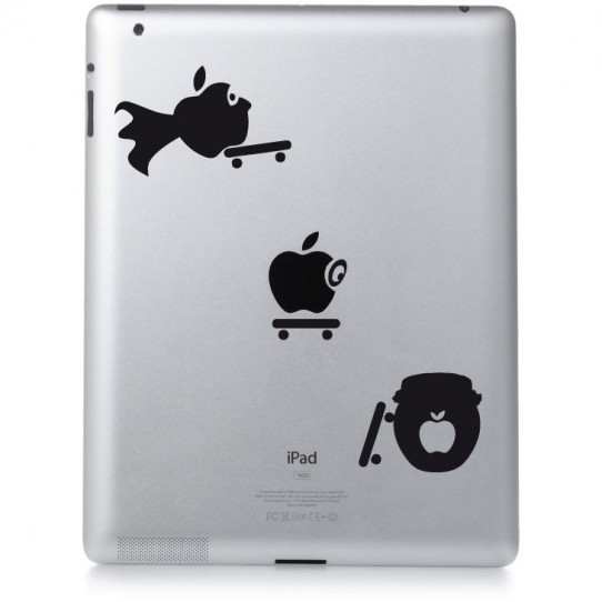 Stickers ipad 3 skate