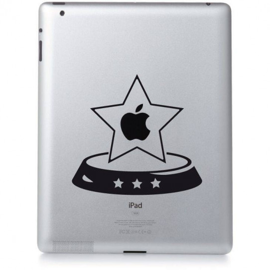 Stickers ipad 3 stars
