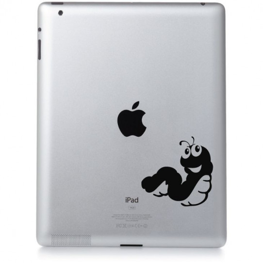 Stickers ipad 3 ver de terre